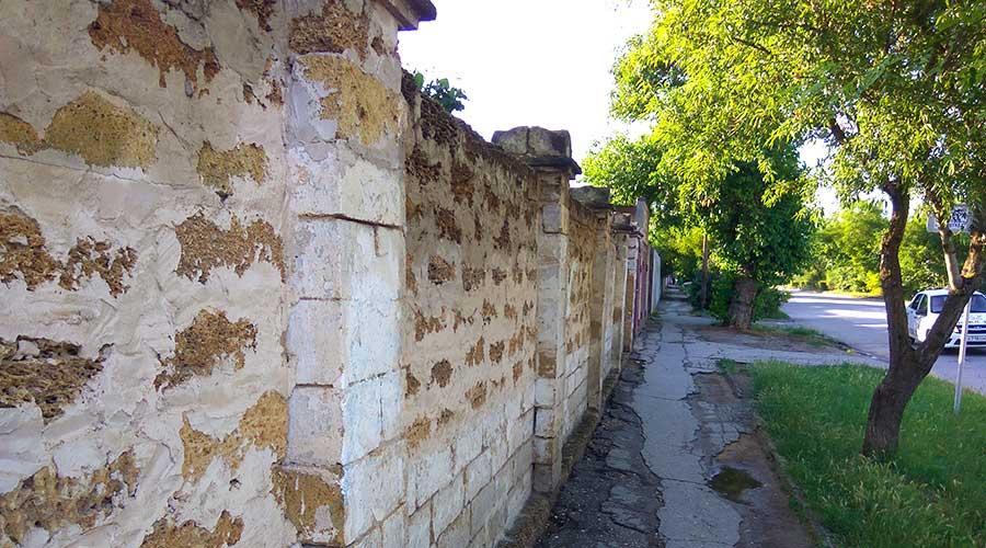 Тротуар города Евпатория