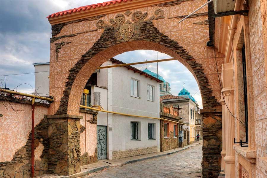 Улица старого города Евпатория